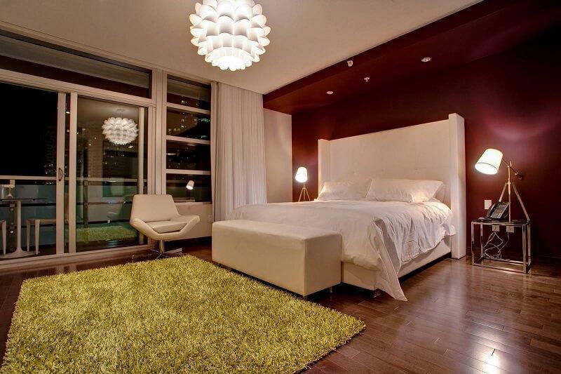 Prime Hotel Bedroom Night Time